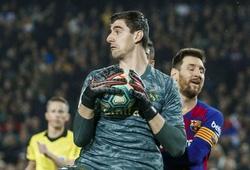 """Courtois """"góp công"""" khiến Messi tịt ngòi dài nhất Siêu kinh điển"""