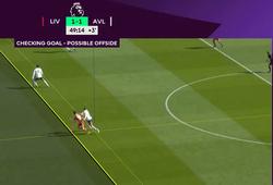 Liverpool mất bàn thắng tranh cãi vì VAR bắt lỗi việt vị từng cm