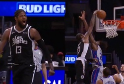 Paul George dằn mặt tân binh đang lên của Pistons bằng cú dunk sấm sét
