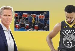 HLV Steve Kerr chặn Curry lập kỷ lục ném 3 điểm: Tất cả chỉ là cú lừa?