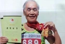 Cụ ông 80 tuổi phá kỷ lục châu Á chạy 5000m