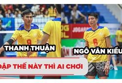 Từ Thanh Thuận và Ngô Văn Kiều thi nhau dội bom trước Bến Tre || Bóng chuyền