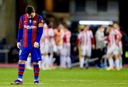 Barca cần phá dớp tồn tại gần 1 thế kỷ để giành Cúp nhà vua