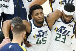 Đang bay cao, Utah Jazz lo âu với chấn thương của sao trẻ Donovan Mitchell