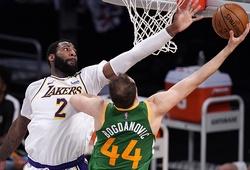 Từ chối cơn mưa 23 quả 3 điểm của Utah Jazz, Lakers thắng nghẹt thở trong hiệp phụ