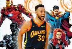 Sẽ có trận đấu NBA phiên bản Avengers: Stephen Curry sánh vai với các siêu anh hùng?