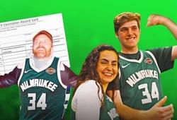 Mua vé xem Milwaukee Bucks, được khuyến mại vaccine COVID-19