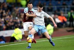 Lịch trực tiếp Bóng đá TV hôm nay 3/5: Burnley vs West Ham