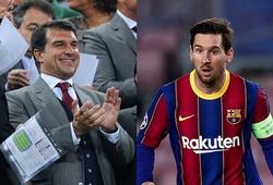 Messi ra điều kiện đặc biệt để gia hạn hợp đồng với Barca