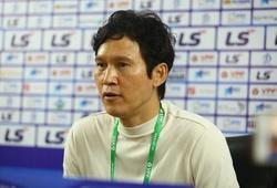 Thắng trận đầu tiên, ông Park vẫn chưa hài lòng với Hà Nội FC