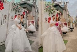 Dàn sao bóng chuyền nữ Việt Nam dự đám cưới chủ công Lê Thị Hồng