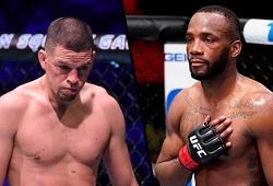 Leon Edwards vs Nate Diaz dời lịch đấu sang UFC 263 vì chấn thương