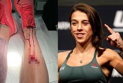 Joanna Jedzejczyk khoe vết thương khi tập luyện: Bạn còn muốn làm võ sĩ?