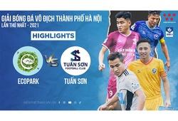 Highlights | Ecopark vs Tuấn Sơn | vòng 4 Hanoi Serie A - 2021 | Bóng đá