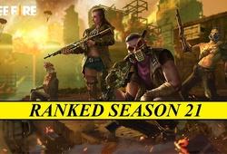 Reset rank Free Fire mùa 21 diễn ra khi nào?