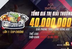 Công bố thể thức thi đấu của vòng chung kết giải AoE Cơm Canh Cà lần thứ nhất