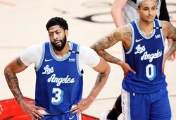 """Dù Anthony Davis thi đấu """"cực cháy"""", Lakers vẫn thua đau Portland và rơi xuống suất play-in"""