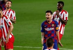 Tỷ số xảy ra nhiều nhất ở trận Barca vs Atletico