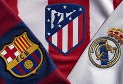 """Bảng xếp hạng La Liga mới nhất: """"Tam mã"""" đua vô địch bóng đá Tây Ban Nha"""