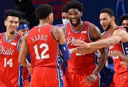 5 năm sau mùa giải chỉ thắng vỏn vẹn 10 trận, Philadelphia 76ers lên đỉnh BXH miền Đông