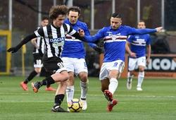 Nhận định Udinese vs Sampdoria, 20h00 ngày 16/05, VĐQG Italia