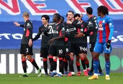 Lịch thi đấu vòng 38 Ngoại hạng Anh: Liverpool vs Crystal Palace