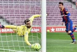 Có bao nhiêu cầu thủ ghi ít nhất 30 bàn một mùa như Messi?