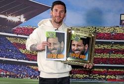 Messi đưa ra manh mối về tương lai khiến Barca phấn khích