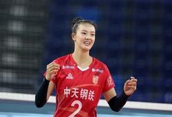 Hoa khôi bóng chuyền từng vô địch VTV Cup thay Zhu Ting làm đội trưởng Trung Quốc
