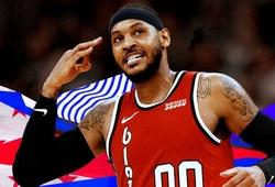 Sự hồi sinh của Carmelo Anthony đã truyền cảm hứng thế nào tới NBA?