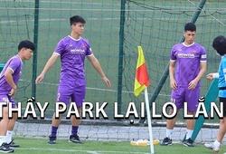 Duy Mạnh, Đình Trọng tập, Minh Vương tập riêng, thầy Park bổ sung gấp cầu thủ đi UAE
