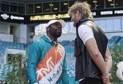 """Floyd Mayweather vs. Logan Paul: """"Thắng ở hiệp nào là do tôi""""!"""