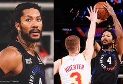Thi đấu như một MVP, Derrick Rose cùng New York Knicks hồi sinh tại Game 2 trước Atlanta Hawks