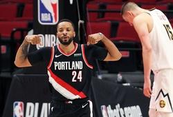 """Dù Lillard chỉ có 1-10 FG, Portland vẫn """"hạ đẹp"""" Denver Nuggets bằng kép phụ khủng"""