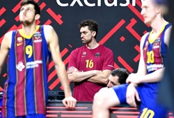 Pau Gasol tan vỡ hy vọng Vô địch Euroleague cùng Barcelona