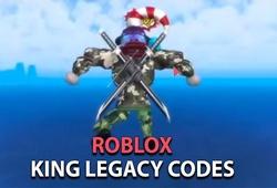 Code King Legacy Roblox mới nhất 2021