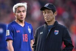 Chanathip hết cửa dự VL World Cup 2022, HLV Nishino tuyên bố soán ngôi ĐT Việt Nam
