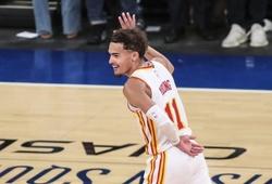 Trae Young cúi đầu chào, tiễn New York Knicks ra khỏi vòng Playoffs
