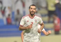 """Phá lưới Malaysia, """"sát thủ"""" của UAE ghi bàn cho ĐTQG nhiều hơn cả... Messi"""