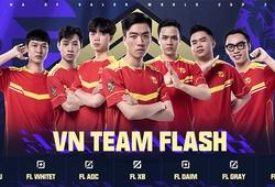 Đội hình Team Flash Liên Quân bổ sung White T trước thềm AWC 2021