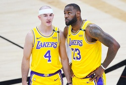 """""""Mamba hói"""" Alex Caruso mong được tiếp tục vô địch cùng Los Angeles Lakers"""