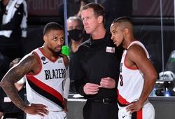 """Portland Trail Blazers chia tay HLV trưởng: Quyết không cho đội khác """"giải cứu Dame""""?"""