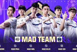 Đội hình MAD Team chào đón Yuzon trở lại trước thềm AWC 2021