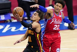 Nhận định NBA Playoffs 2021: Atlanta Hawks vs Philadelphia 76ers (Ngày 9/6 6h30)
