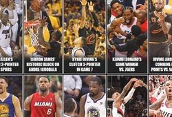 15 khoảnh khắc đáng nhớ nhất NBA Playoffs trong 10 năm qua