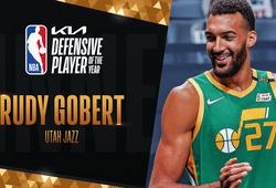 3 lần đoạt giải Cầu thủ Phòng ngự Xuất sắc nhất, Rudy Gobert sánh ngang huyền thoại