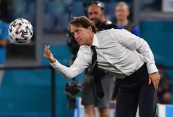 HLV Mancini đặt mục tiêu lớn cho Italia sau chiến thắng mở màn