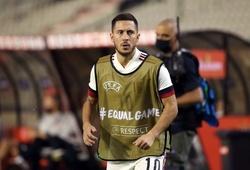 Eden Hazard chưa đảm bảo thể lực cho trận ra quân của ĐT Bỉ tại Euro 2020