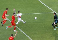 Bằng chứng Thụy Sĩ không mất oan bàn quyết định trước Xứ Wales