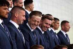 Chùm ảnh: ĐT Anh lên đồ cực chất trước thềm trận mở màn EURO 2020